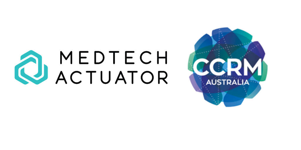Med Tech Actuator and CCRM logos