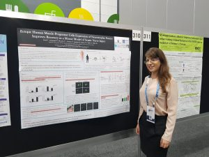Reut Guy presenting research at ISCT
